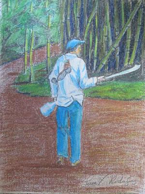 Painting - Hacia La Finca by Luis F Rodriguez