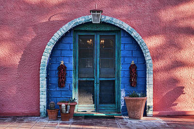Photograph - Hacienda Door  by Saija Lehtonen