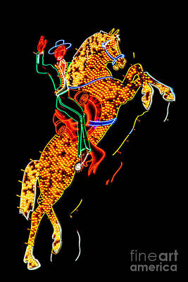 Truck Art - Hacienda Horse and Rider by Az Jackson