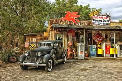 Photograph - Hackberry General Store by Studio Artist