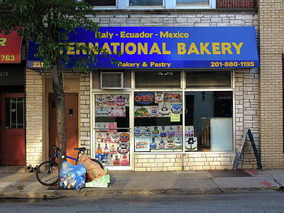 Photograph - Hackensack, Nj -  Bakery 2018 by Frank Romeo
