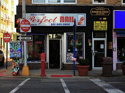 Photograph - Hackensack, Nj -  Perfect Nail 2018 by Frank Romeo