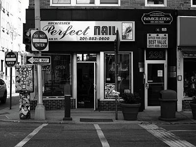 Photograph - Hackensack, Nj -  Perfect Nail Bw 2018 by Frank Romeo