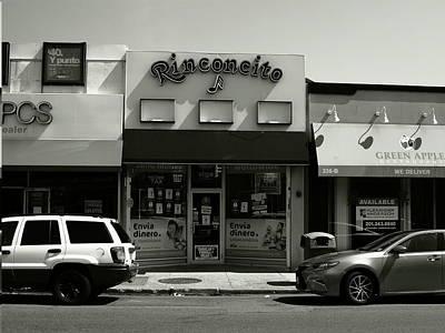 Photograph - Hackensack, Nj -  Rinconcito Bw 2018 by Frank Romeo