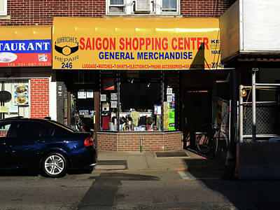 Photograph - Hackensack, Nj -  Saigon Shop 2018 by Frank Romeo