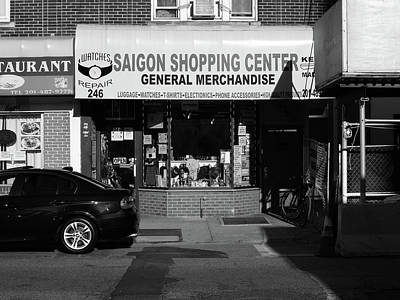 Photograph - Hackensack, Nj -  Saigon Shop Bw 2018 by Frank Romeo