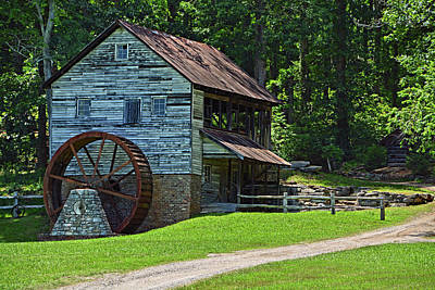 Photograph - Hacker Martin Grist Mill by Ben Prepelka