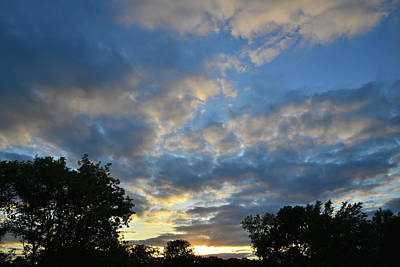 Photograph - Hackmatack Sunset In Mchenry County by Ray Mathis