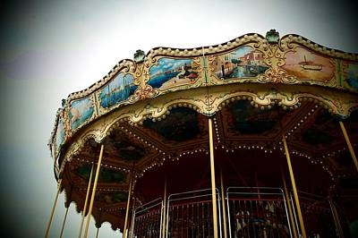 Photograph - Had A Dream Of A Carousel by Dora Hathazi Mendes