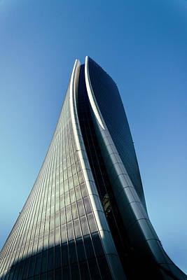 Hadid Tower, Milan, Italy Art Print