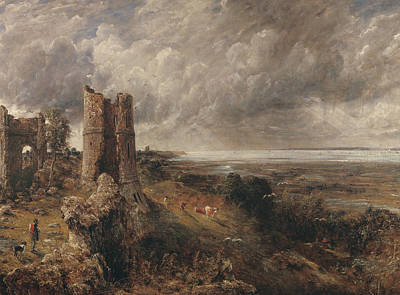 Painting - Hadleigh Castle The Mouth Of The Thames by John Constable