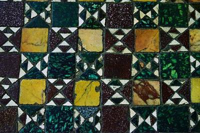 Photograph - Hadrian's Villa Floor Design  by Eric Tressler