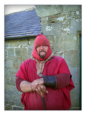 Photograph - Hadrians Wall Guard by Joan  Minchak