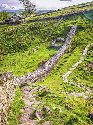 Photograph - Hadrians Wall Remnants by Lexa Harpell