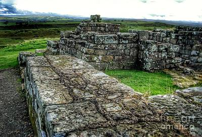 Photograph - Hadrian's Wall Ruins by Joan-Violet Stretch