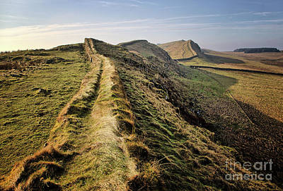 Northumberland Photograph - Hadrians Wall by Smart Aviation