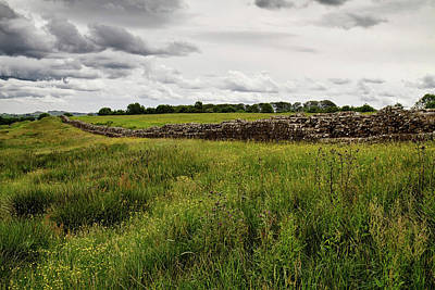 Photograph - Hadrians Wall West 3 by Shirley Mitchell