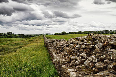 Photograph - Hadrians Wall West 4 by Shirley Mitchell