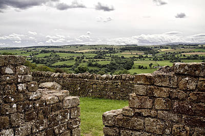 Photograph - Hadrians Wall West 1 by Shirley Mitchell