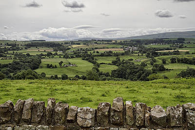 Photograph - Hadrians Wall West 2 by Shirley Mitchell