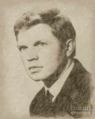Fantasy Drawings - Hadry Kruger, Actor by Frank Falcon