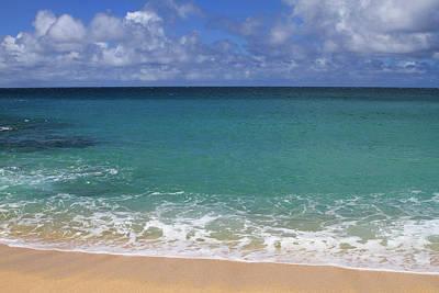 Photograph - Haena Beach 1 by Bonnie Follett