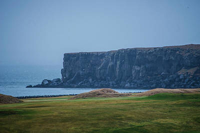 Photograph - Hafnaberg Sea Cliffs Reykjanes Peninsula Iceland by Deborah Smolinske
