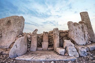 Maltese Photograph - Hagar Qim Temples - Malta by Joana Kruse