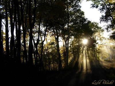 Ecklund Photograph - Hagermans Light by Leslie Rhoades