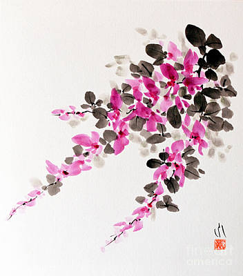 Hagi / Bush Clover Art Print