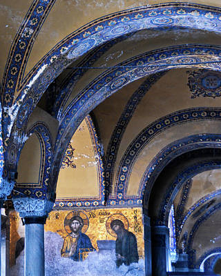 Photograph - Hagia Sophia Detail by Alan Toepfer