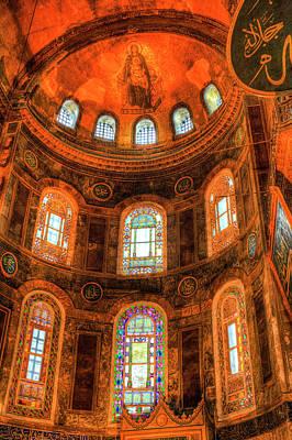 Photograph - Hagia Sophia Istanbul by David Pyatt