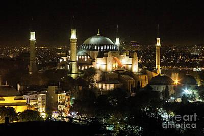 Photograph - Hagia Sophia by Kathy McClure