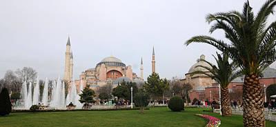 Hagia Sophia Art Print by Niyazi Ugur Genca