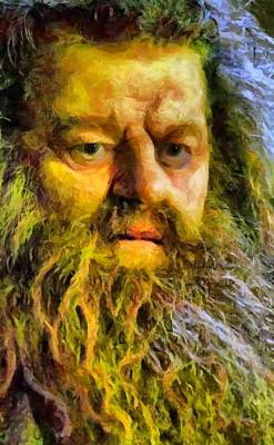 Digital Art - Hagrid by Caito Junqueira