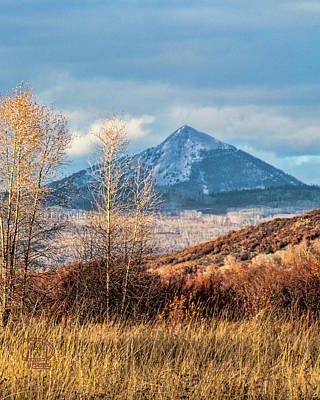 Photograph - Hahns Peak Sweet Light by Daniel Hebard