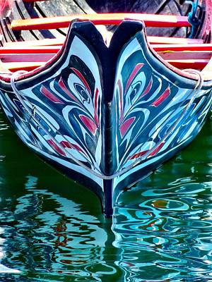 Photograph - Haida Canoe by Rand