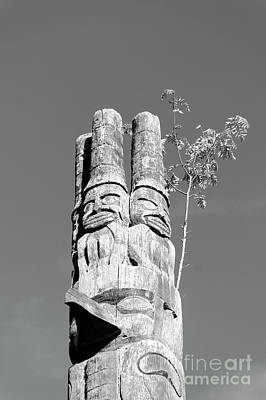Photograph - Haida Watchmen by John  Mitchell