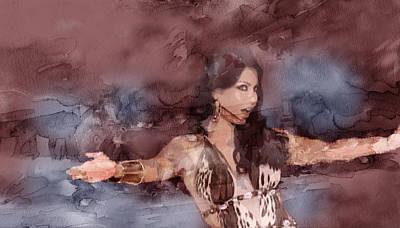 Tehran Painting - Haifa 7 by Jani Heinonen