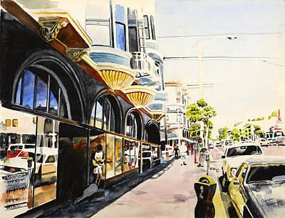 Haight Ashbury Painting - Haight And Ashbury, San Francisco, Ca by Aaron Eminger
