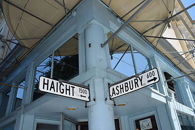 Photograph - Haight And Ashbury by Dany Lison