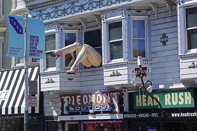 Photograph - Haight And Ashbury Legs San Francisco Ca Haight Street by Toby McGuire
