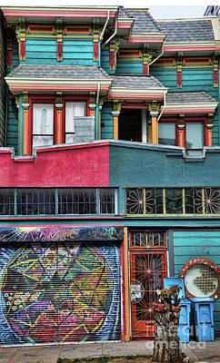 Haight Ashbury Wall Art - Photograph - Haight Ashbury Home San Francisco  by Chuck Kuhn