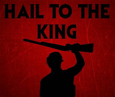 Digital Art - Hail To The King by Kyle West