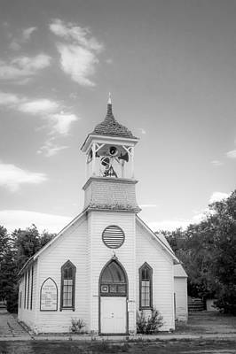 Photograph - Hailey Church by Dave Hall