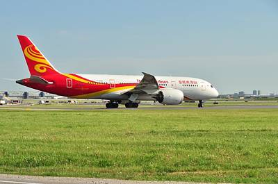 Photograph - Hainan Airlines by Puzzles Shum