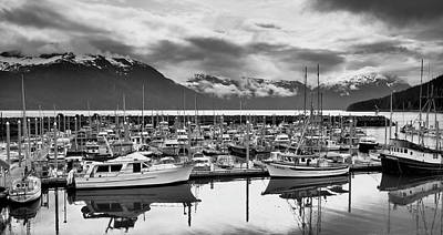 Photograph - Haines Harbor by Paul Riedinger