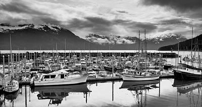 Photograph - Haines Harbor by Paul Riedinger