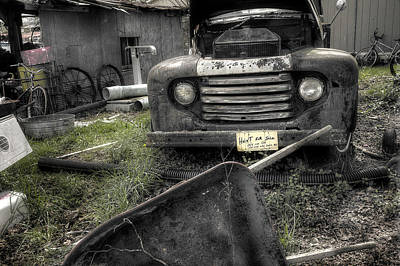 Photograph - Haint For Sale by Mike Eingle