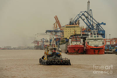Photograph - Haiphong Docks by Werner Padarin